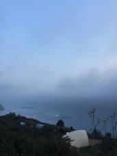 View from Treebones Resort