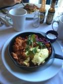 Breakfast at Circa 62, Inn at Schoolhouse Creek