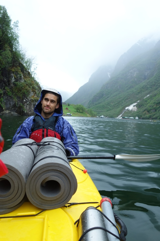 Kayaking in Nærøyfjord