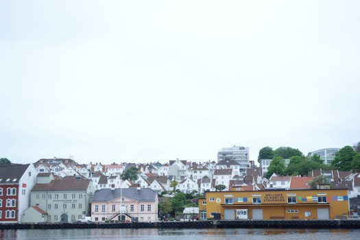 By the harbor in Stavanger