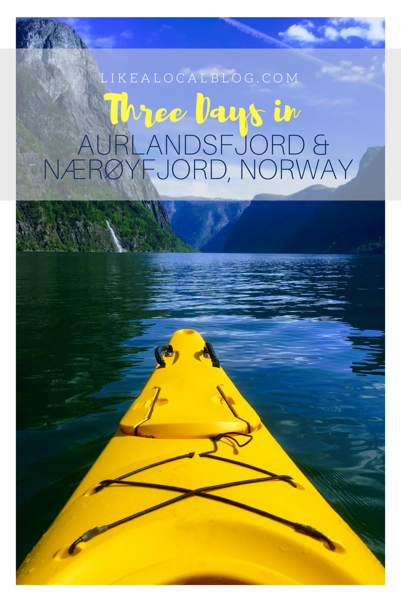 3 Days in Aurlandsfjord and Nærøyfjord, Norway
